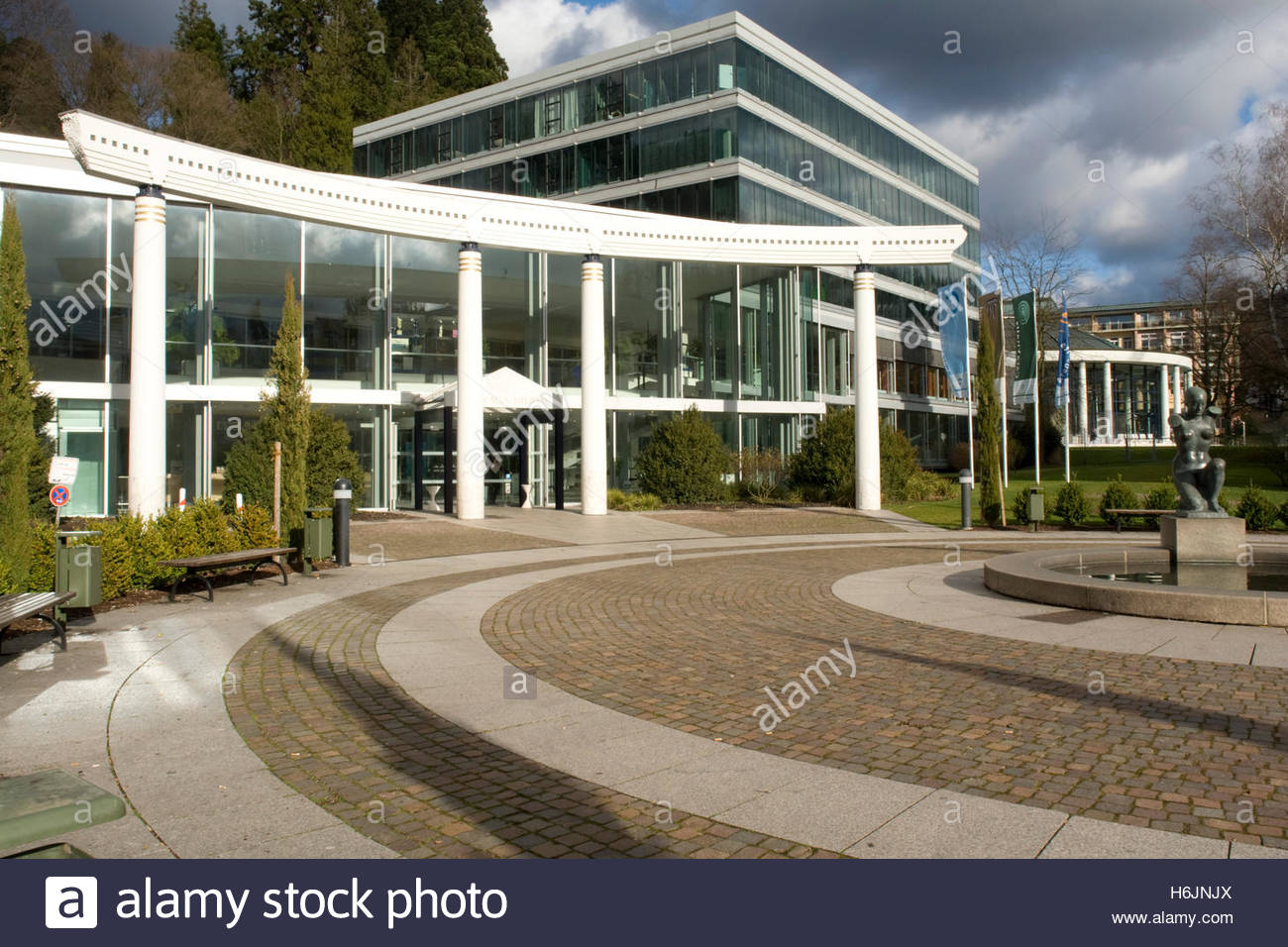 Caracalla Therme The Black Forest, Caracalla-Therme thermal bath, spa town of Baden-Baden, Black ...