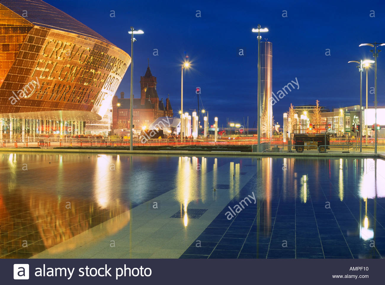 Cardiff Bay South Wales, Wales Millennium Stadium Cardiff Bay South Wales Stock Photo ...