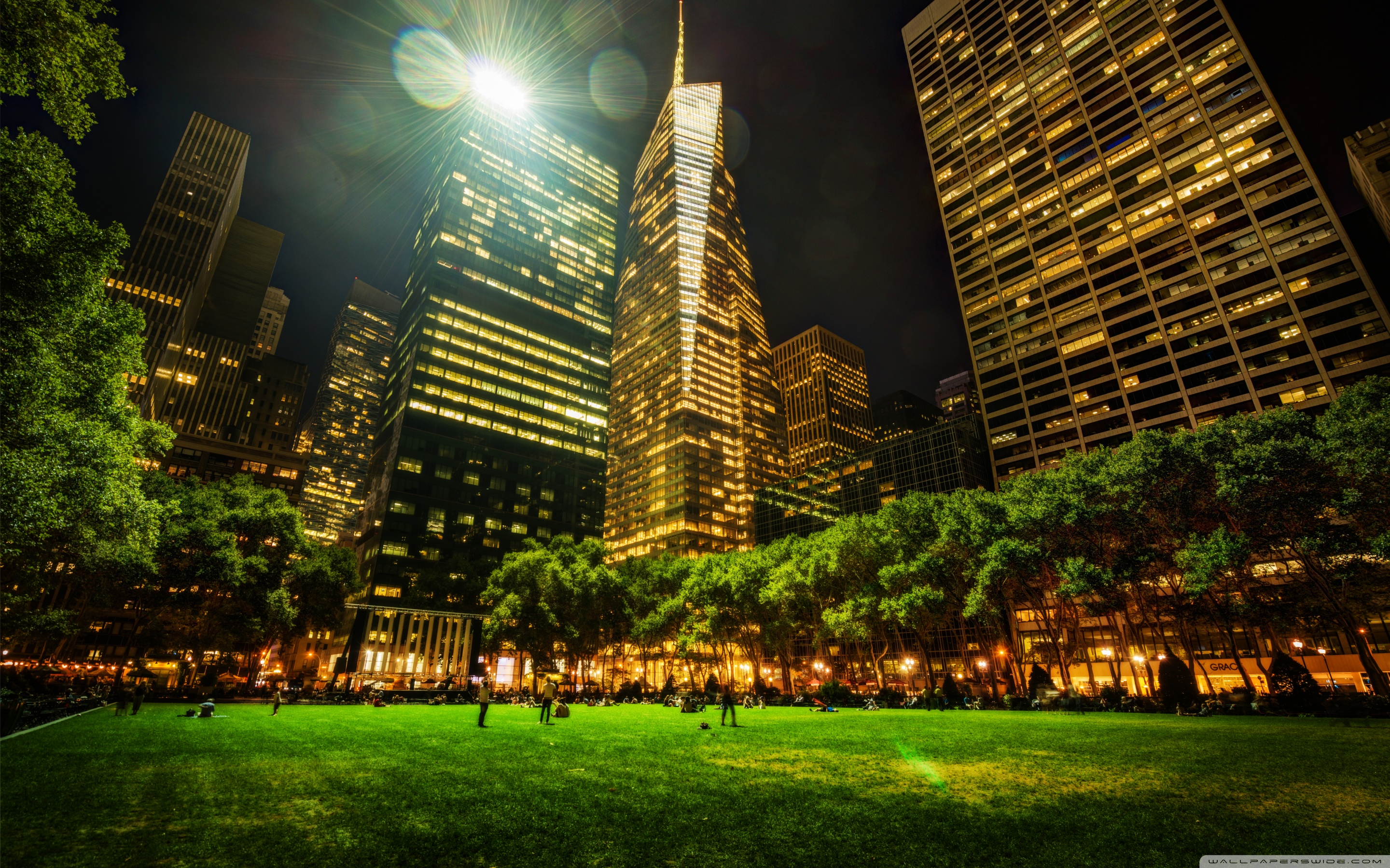 Carl Schurz Park New York City, Bryant Park in New York City ❤ 4K HD Desktop Wallpaper for • Dual ...