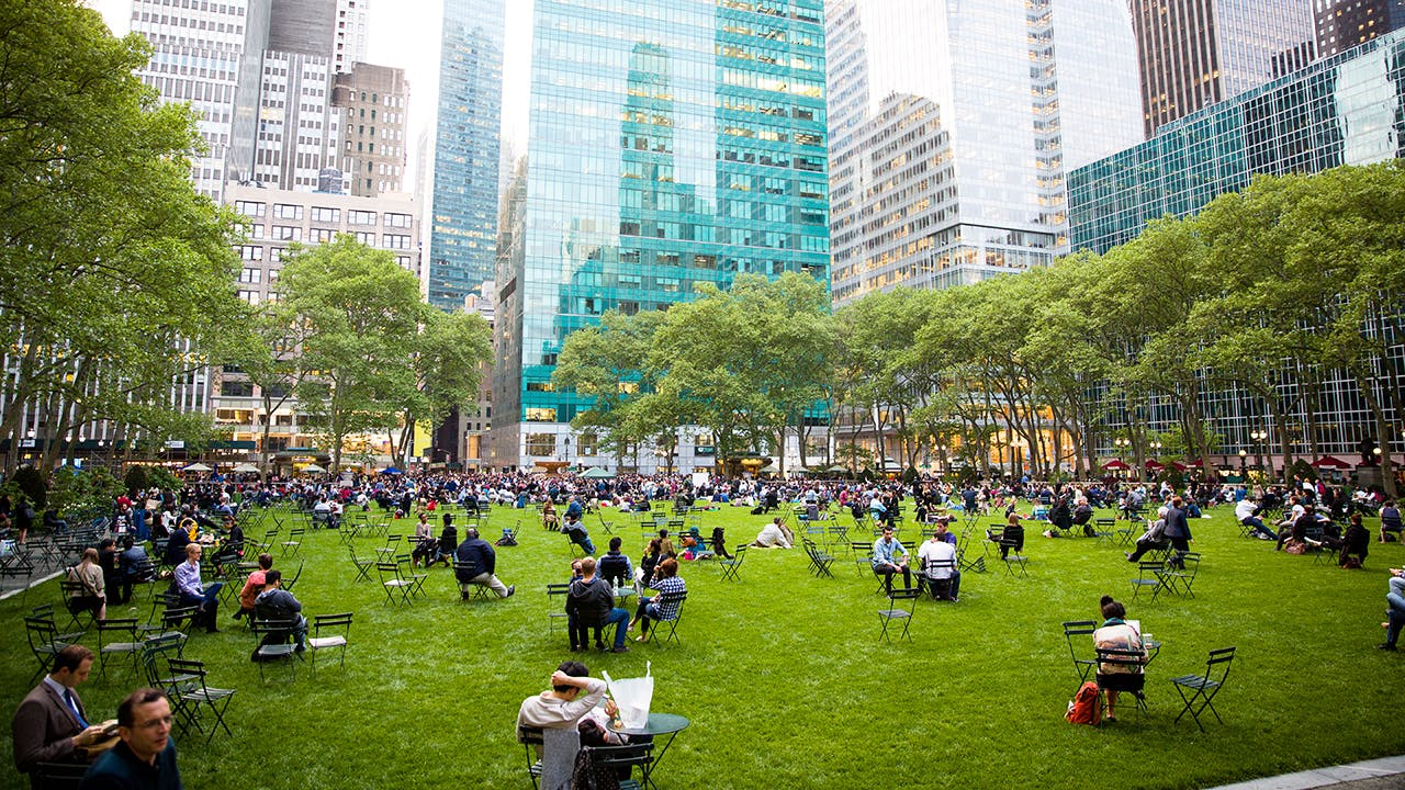 Carl Schurz Park New York City, Bryant Park - The Park