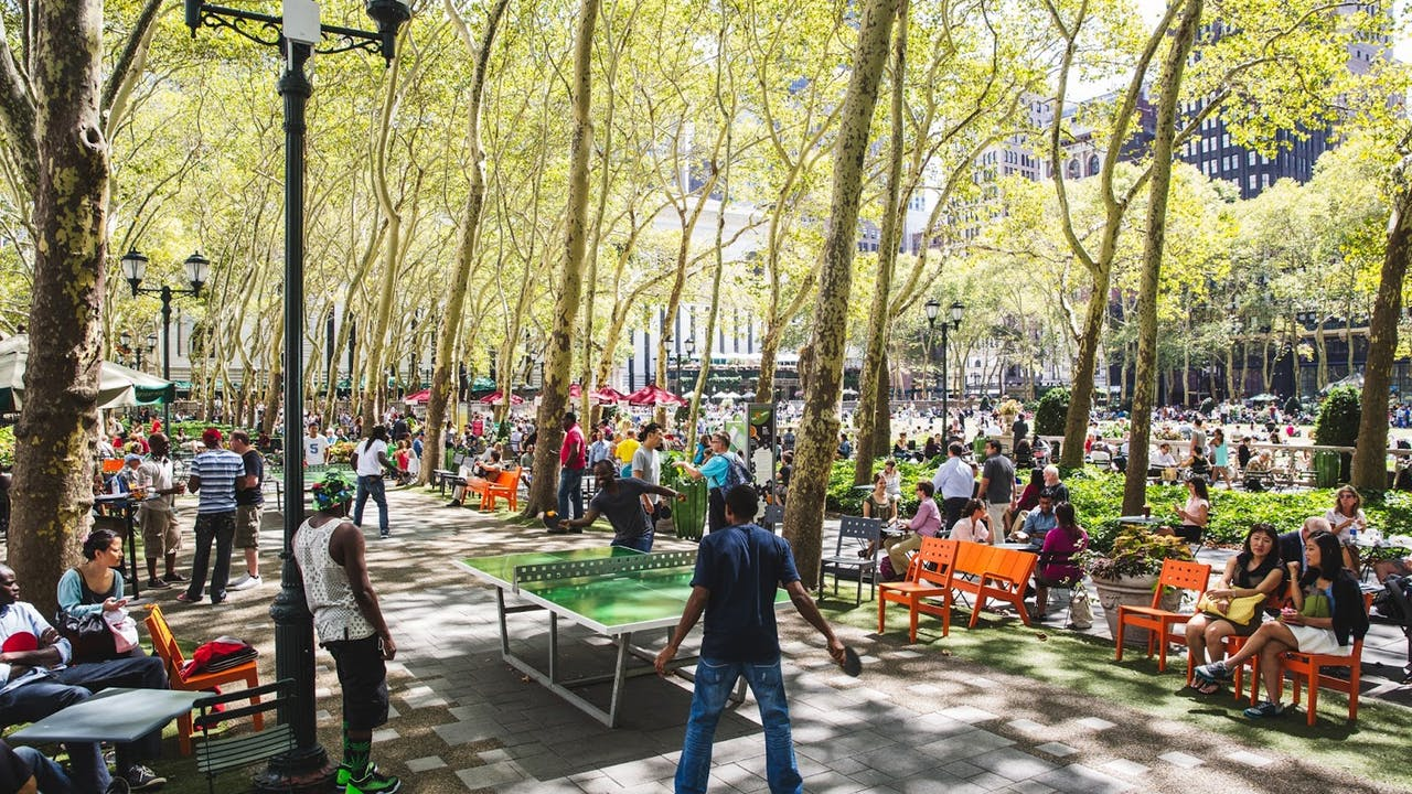 Carl Schurz Park New York City, Bryant Park - Home