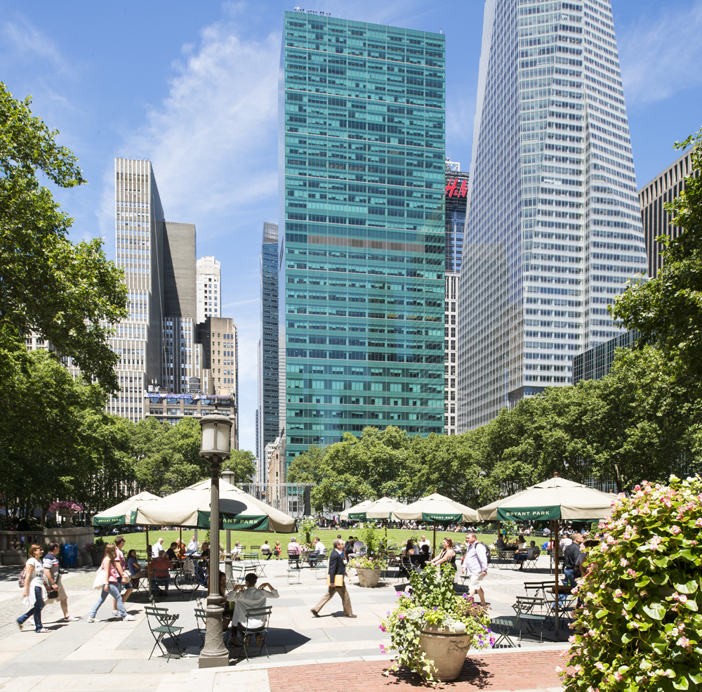 Carl Schurz Park New York City, Three Bryant Park | Office building in New-York, USA