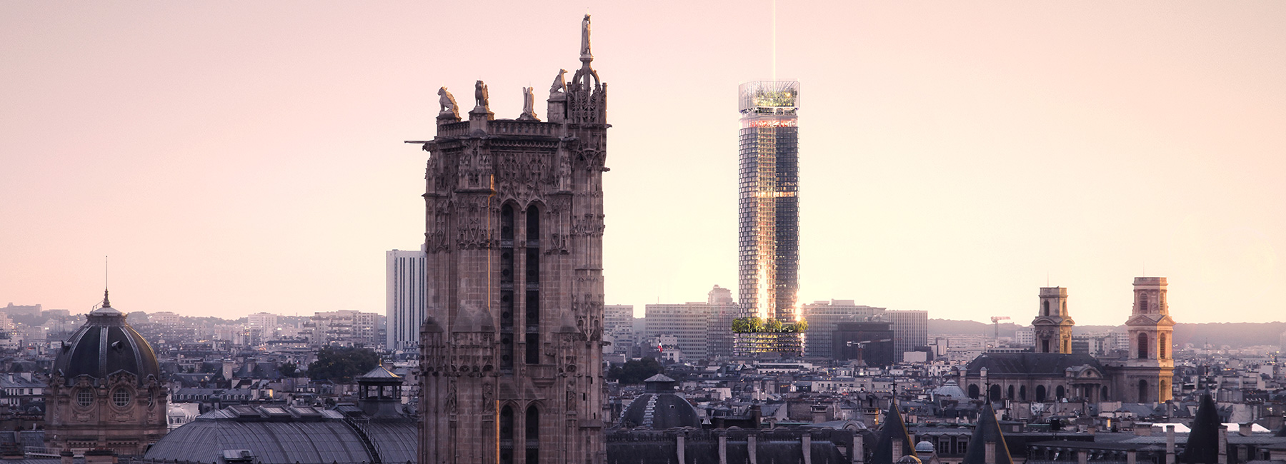 Carrefour de Buci Paris, nouvelle AOM chosen to overhaul paris' tour montparnasse