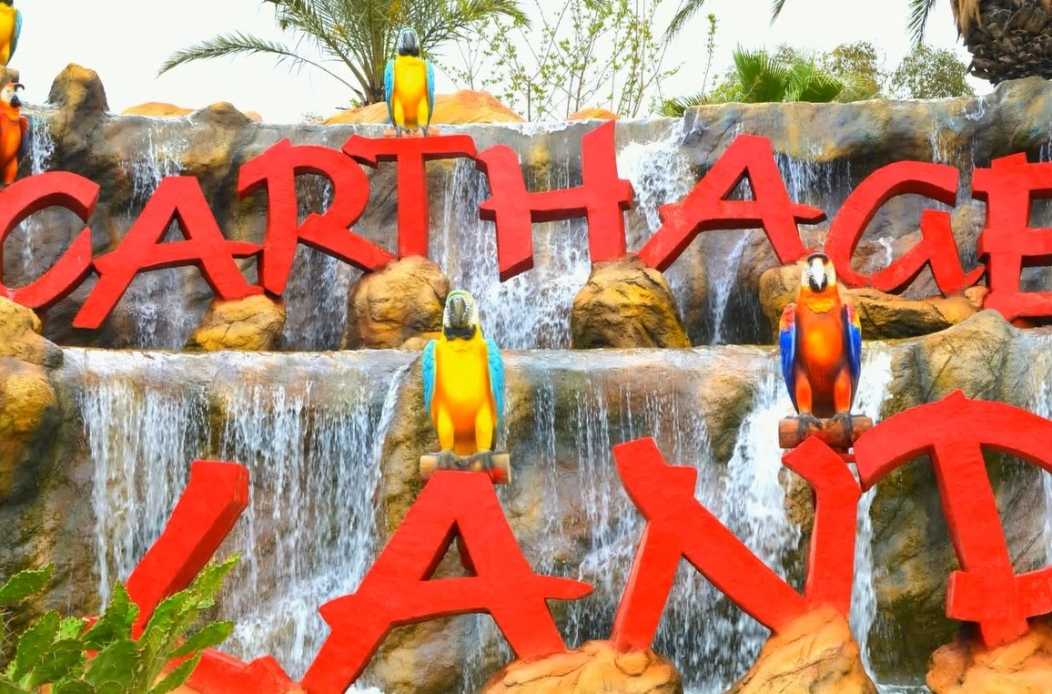 Carthageland Hammamet, Carthage Land. Aqualand. Hammamet - YouTube
