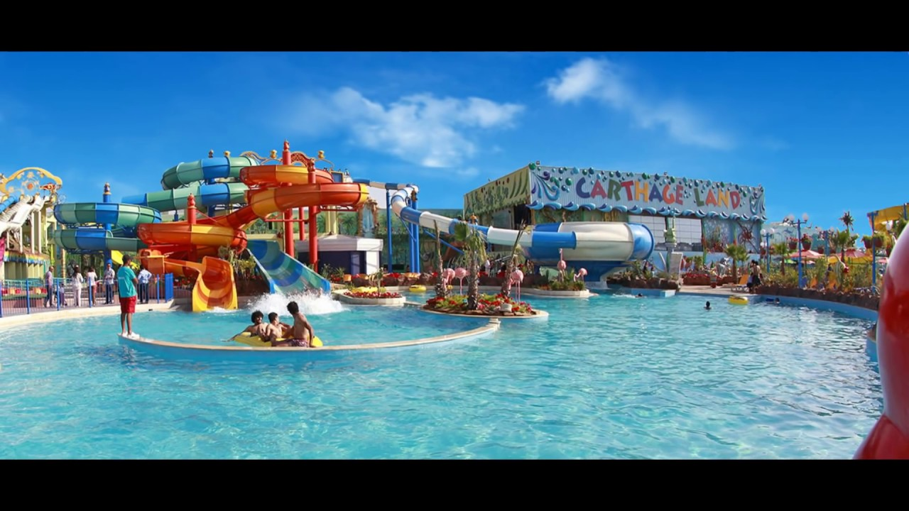 Carthageland Hammamet, CARTHAGE LAND HAMMAMET TUNISIE **** PARC D'ATTRACTION مدينة ملاهي ...