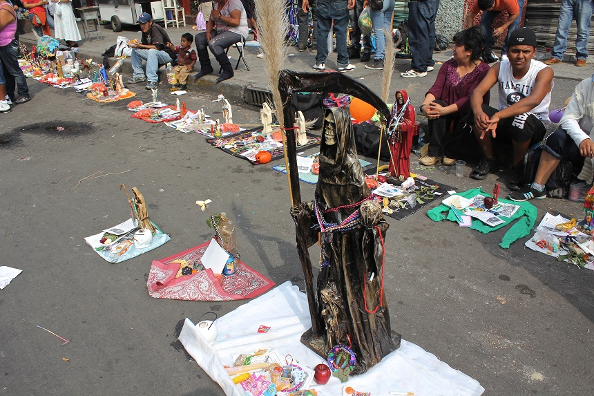 Casa Lamm Cultural Center Mexico City, Mexico Celebrates Santa Muerte (Image Gallery) | Multimedia ...