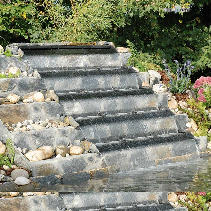 Cascada la escalera colombia for Estanque de jardin con cascada