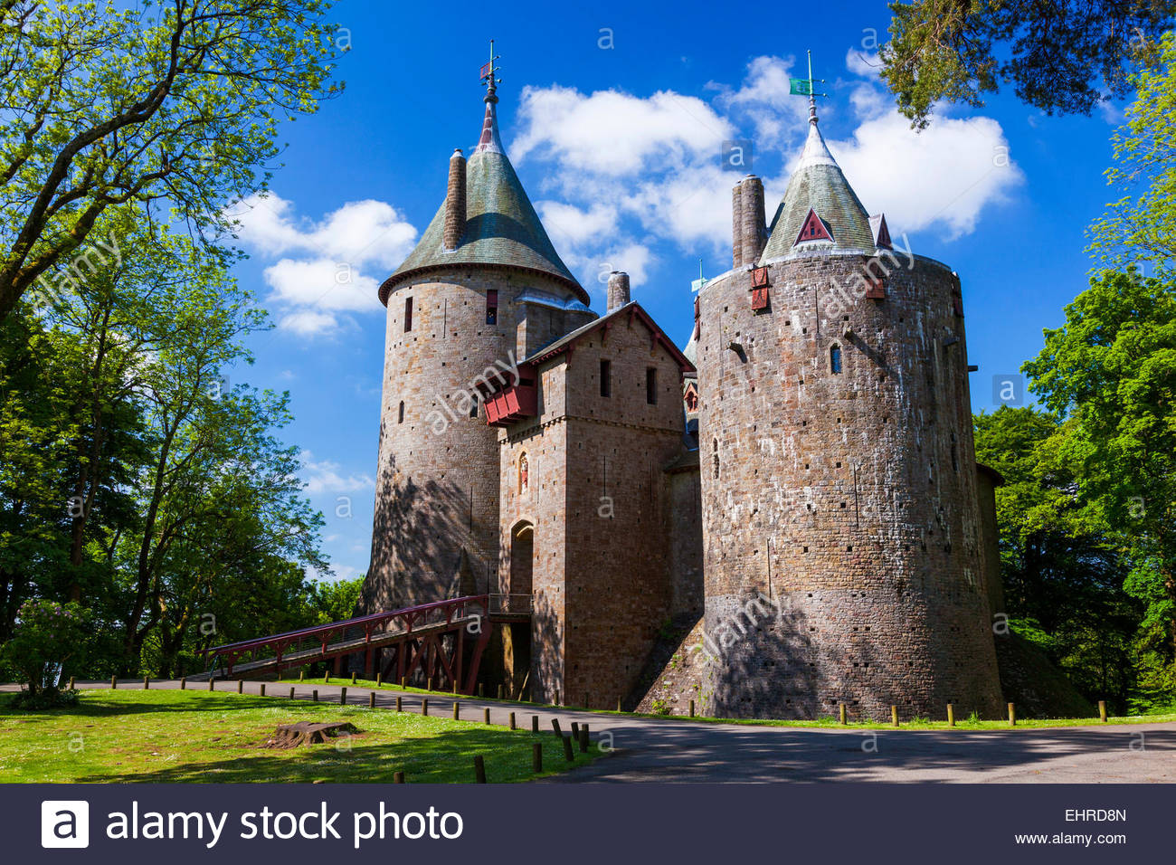 Castell Coch Cardiff, Castell Coch, Castle Coch, The Red Castle,Tongwynlais, Cardiff ...