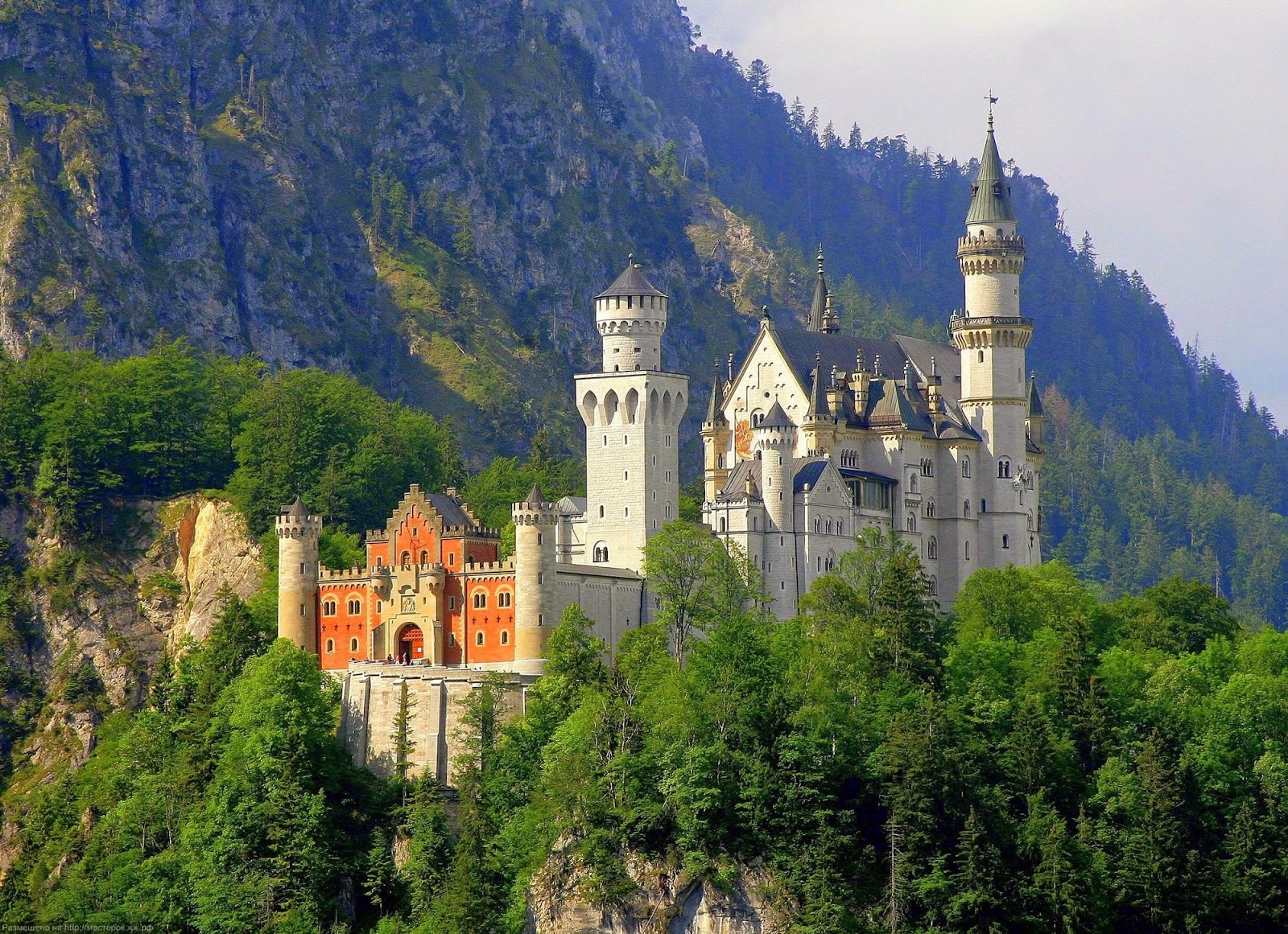 Castle concerts The Romantic Road, Neuschwanstein Castle: 8 Neuschwanstein Castle Wallpaper HD