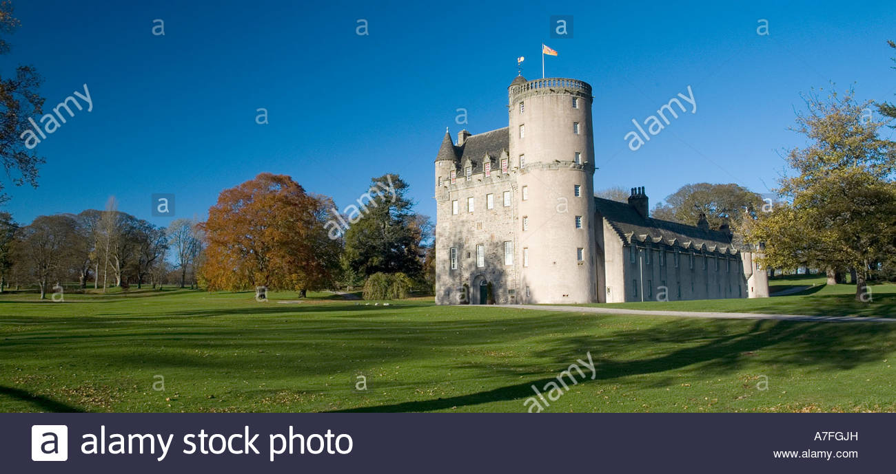 Castle Fraser Aberdeen and the Northeast, Castle Fraser near Craigearn by Kemnay in Aberdeenshire North East ...