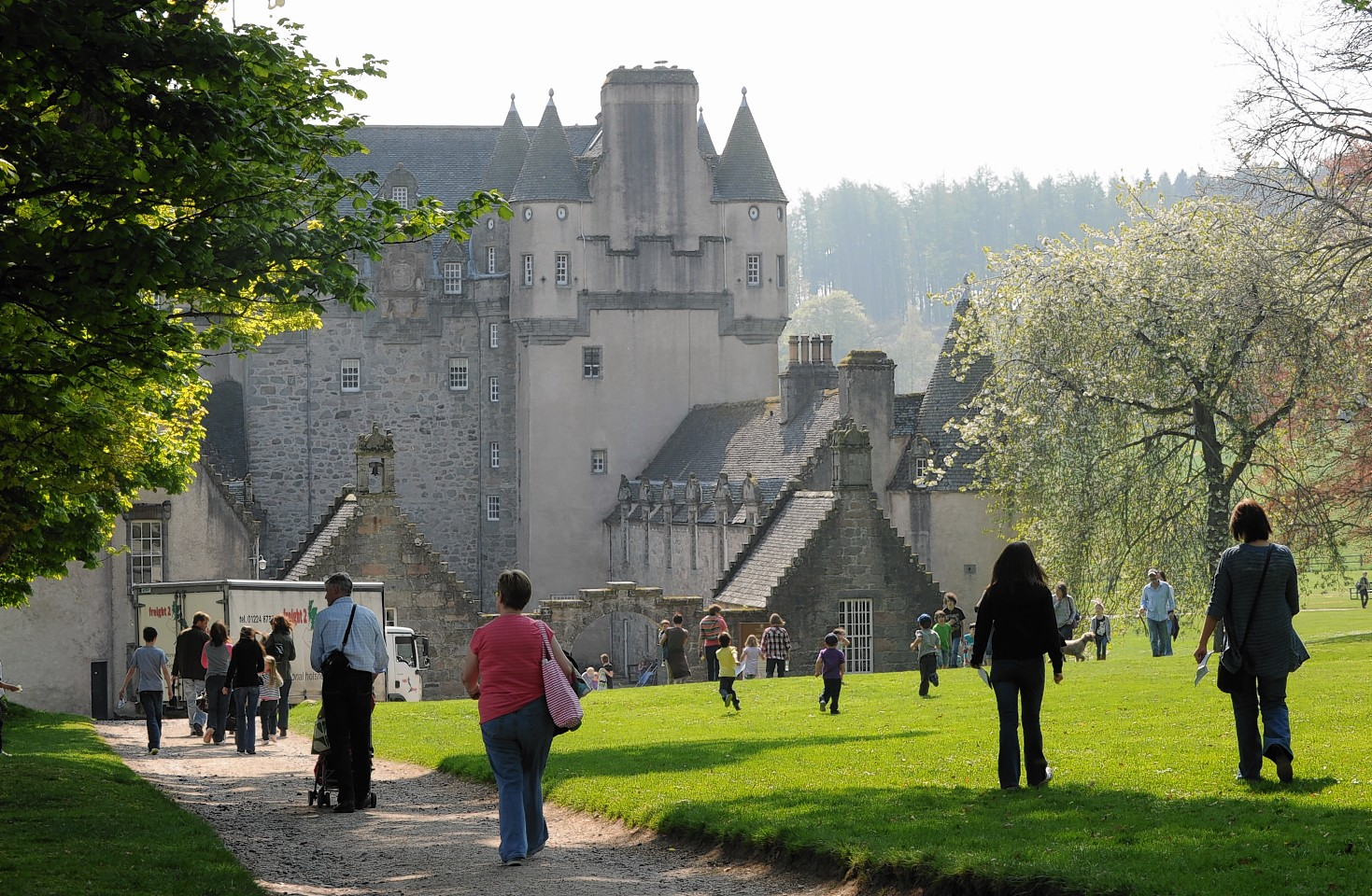 Castle Fraser Aberdeen and the Northeast, Castle Fraser Archives | Press and Journal