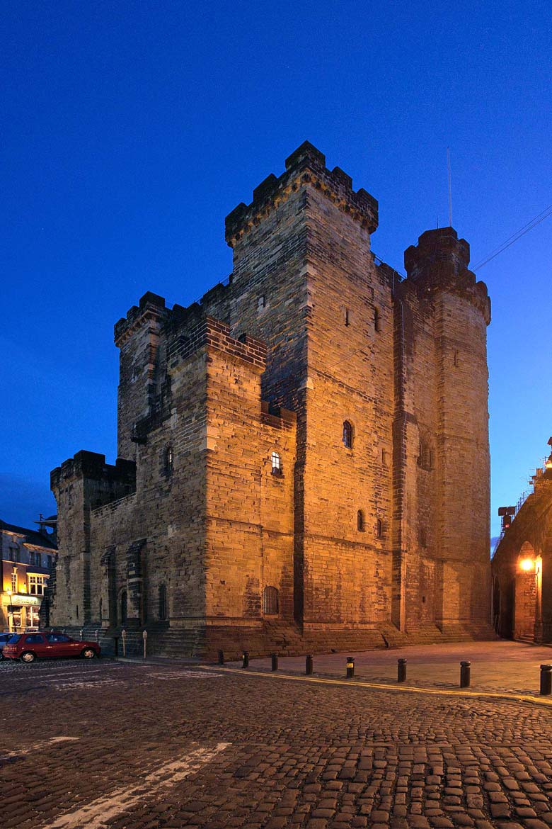 Castle Keep The Northeast, Newcastle Castle Keep, Newcastle upon Tyne, England by Roger Clegg ...