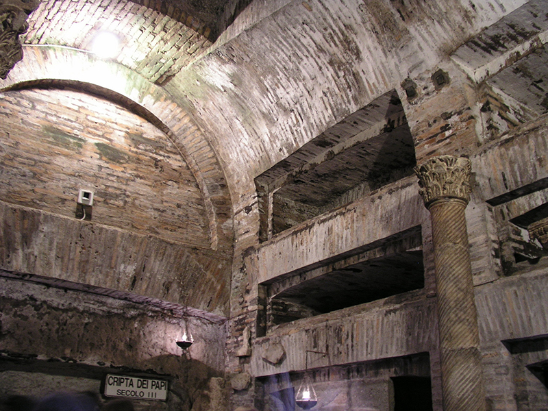 Catacombe di San Callisto Rome, Itinerary: The Catacombs of the Appia Antica - The Catacombs of ...