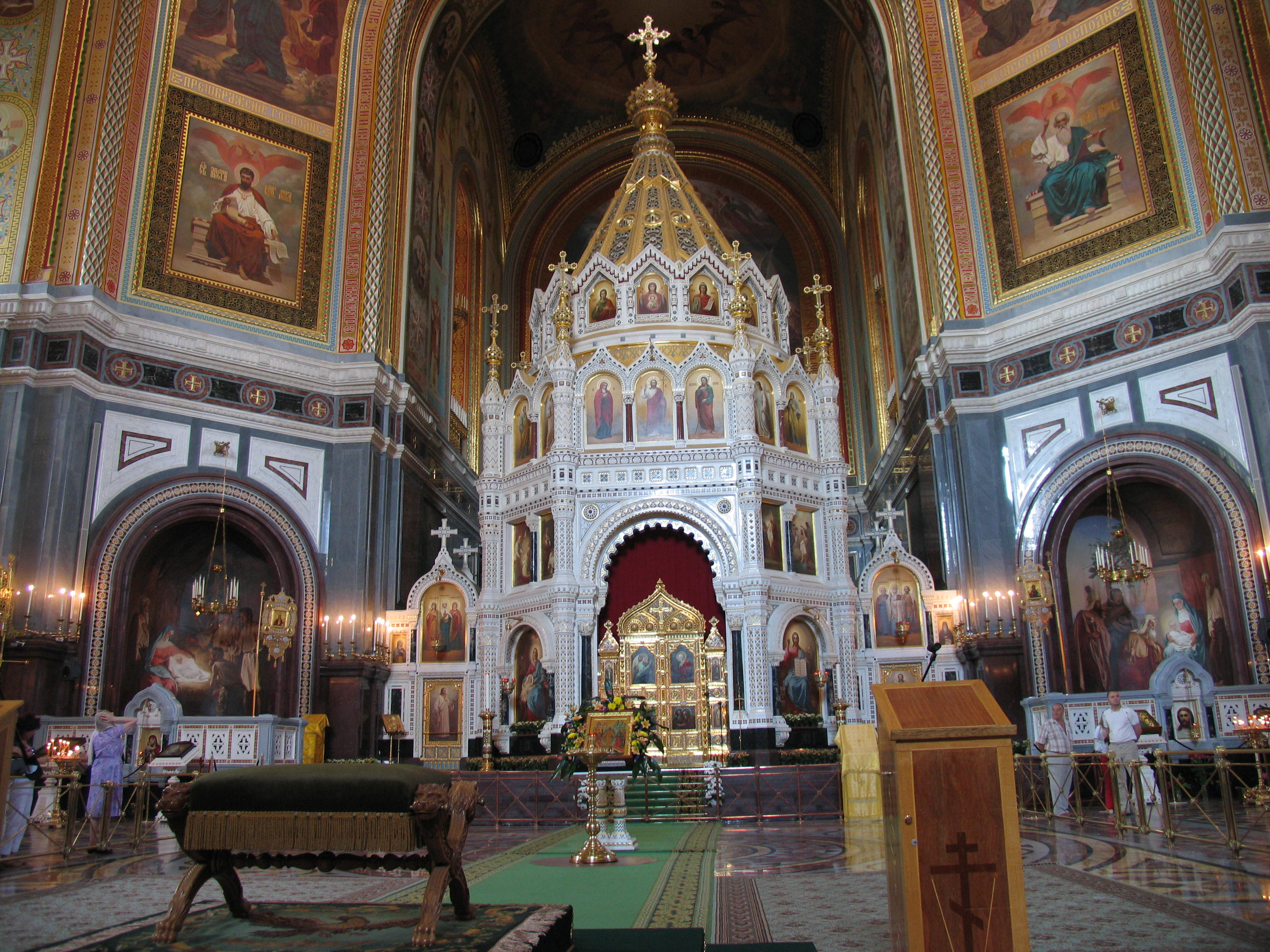 Cathedral of Christ Our Savior Moscow, A short history of Christ the Saviour Cathedral in Moscow ...