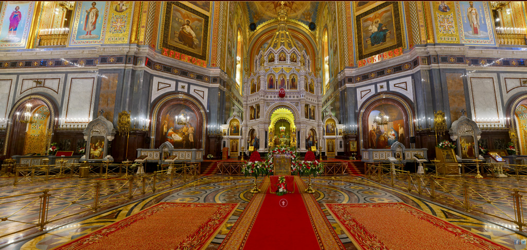 Cathedral of Christ Our Savior Moscow, russia cathedral 4k ultra hd wallpaper | ololoshenka | Pinterest ...