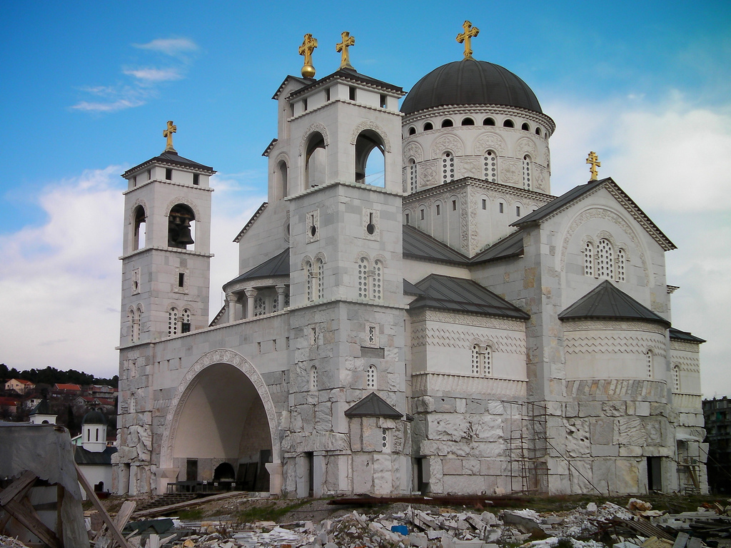 Cathedral of Christ's Resurrection Podgorica, Podgorica Cathedral