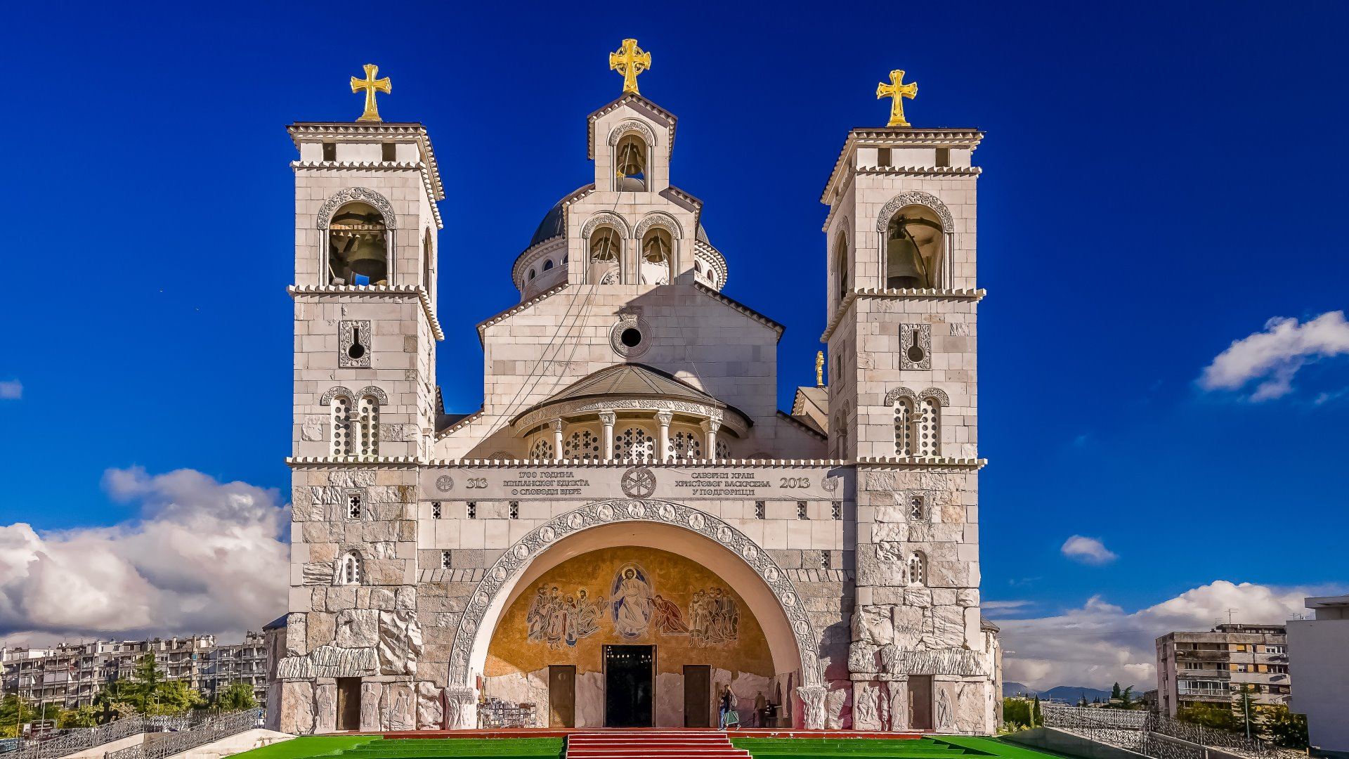 Cathedral of Christ's Resurrection Podgorica, CHURCHES AND CATHEDRALS - Montenegro Travel Agency Adria Line