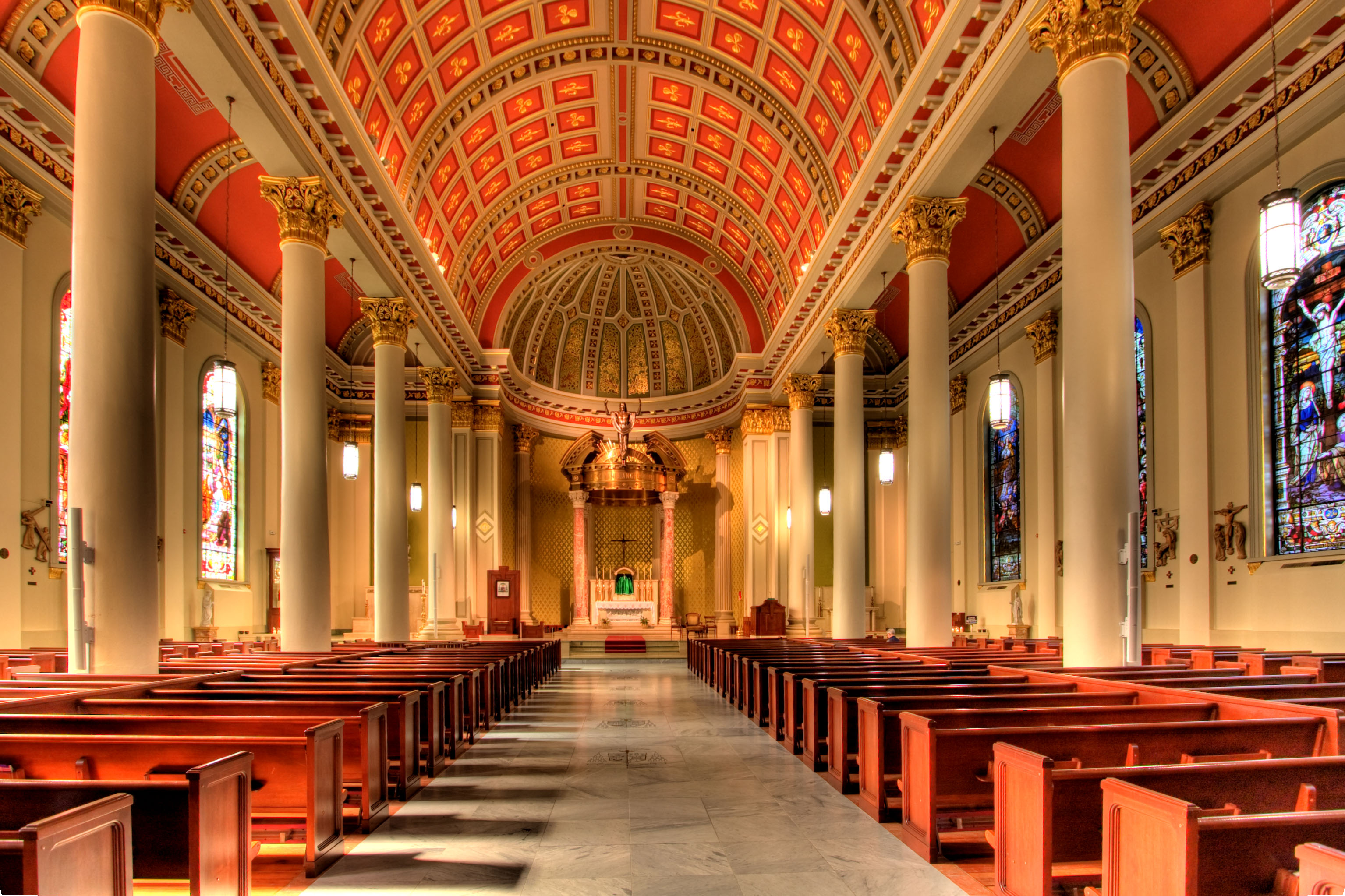 Cathedral of Immaculate Conception The Gulf Coast Beaches, The Cathedral Basilica of the Immaculate Conception is a stunning ...