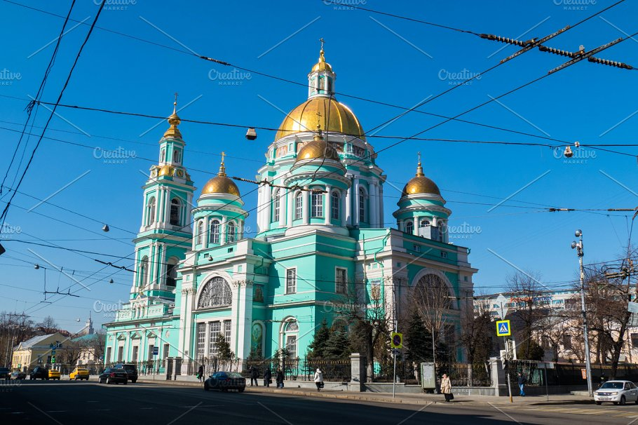 Cathedral of the Epiphany Moscow, Cathedral of the Epiphany, Yelokhovo, Moscow ~ Photos ~ Creative ...