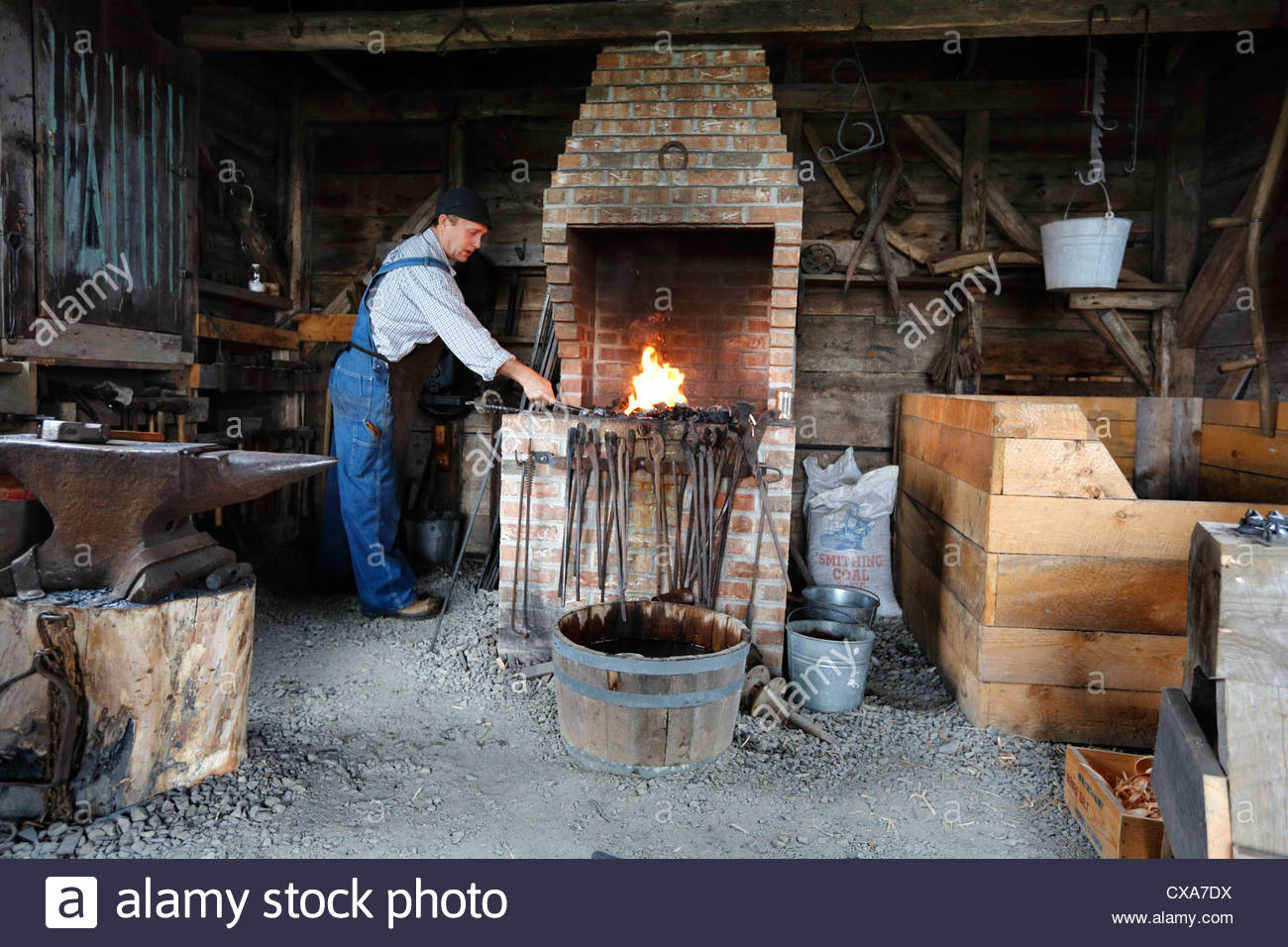 Cathedral of the Incarnation Long Island, The Village Blacksmith Stock Photos & The Village Blacksmith Stock ...