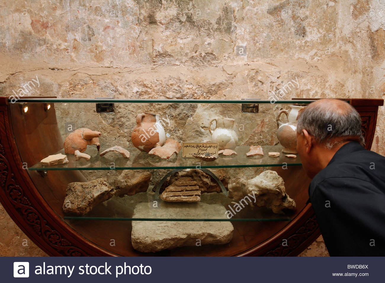 Cave of the Seven Sleepers Amman, Artifacts inside the Cave of the Seven Sleepers near Amman in ...