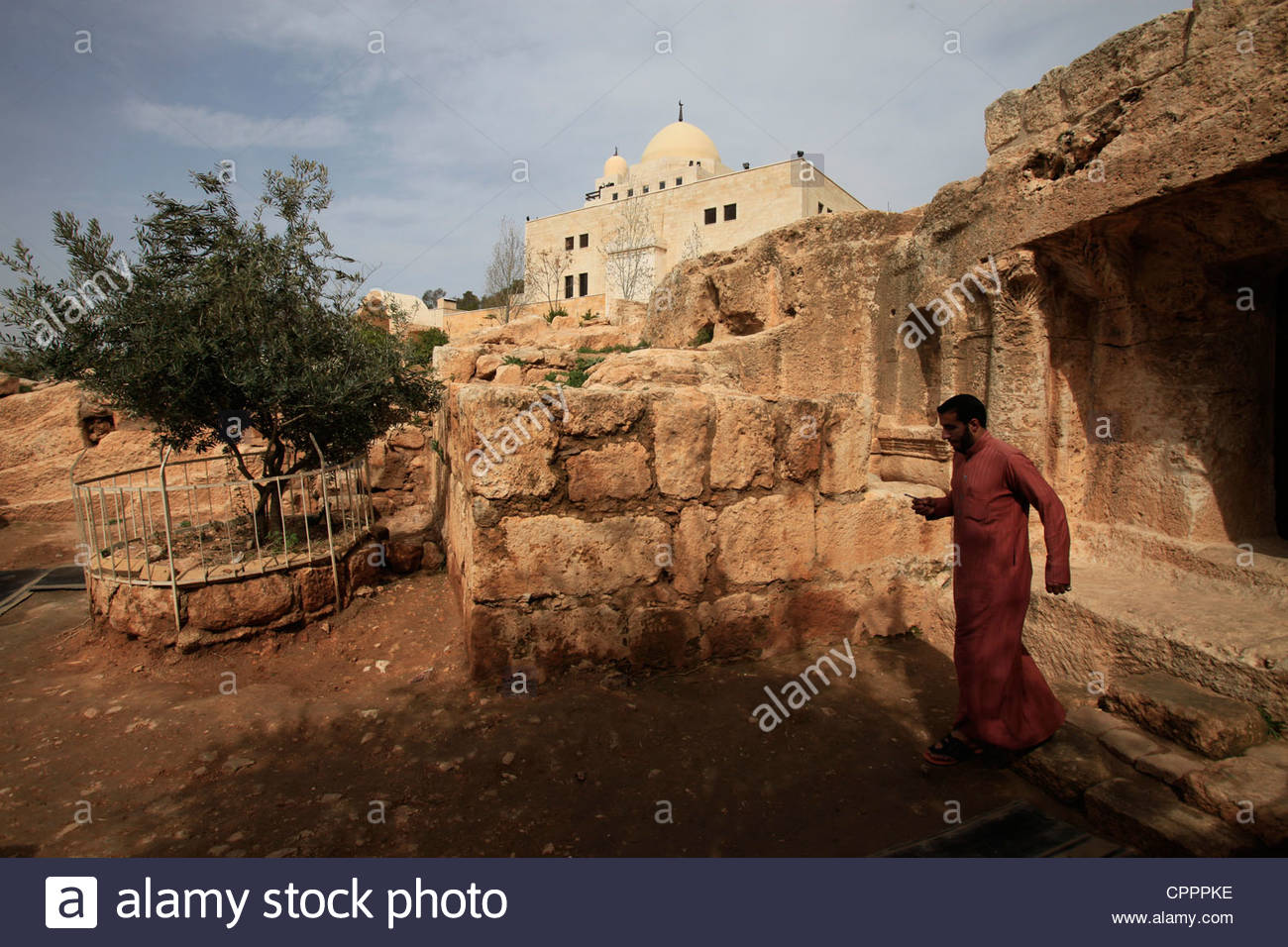 Cave of the Seven Sleepers Amman, Exterior of Kahf Al-Raqim or The Cave of The Seven Sleepers ...
