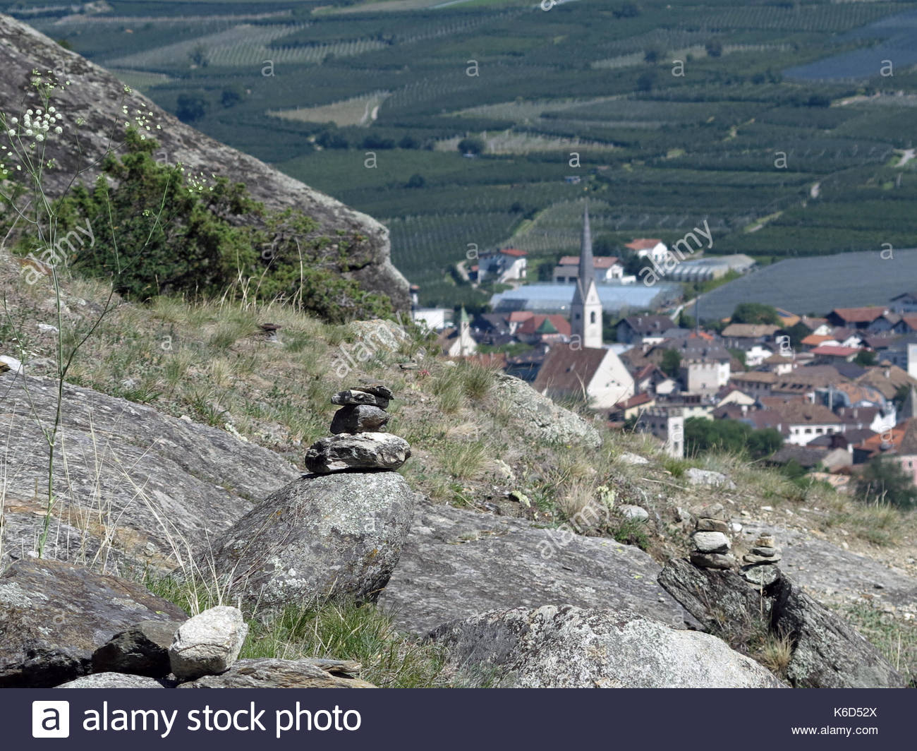 Caves St-Martin The Moselle Valley, Parish Church St Martin Stock Photos & Parish Church St Martin ...