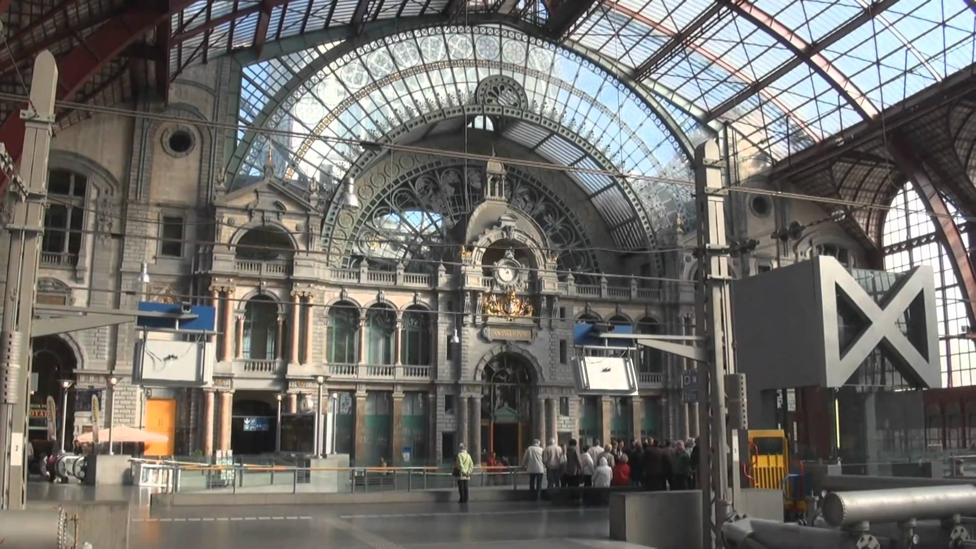 Centraal Station Antwerp, Antwerpen Central Station • Belgium - YouTube