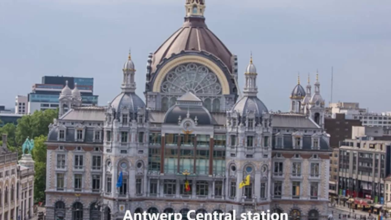 Centraal Station Antwerp, Central station Antwerp 2016 - YouTube
