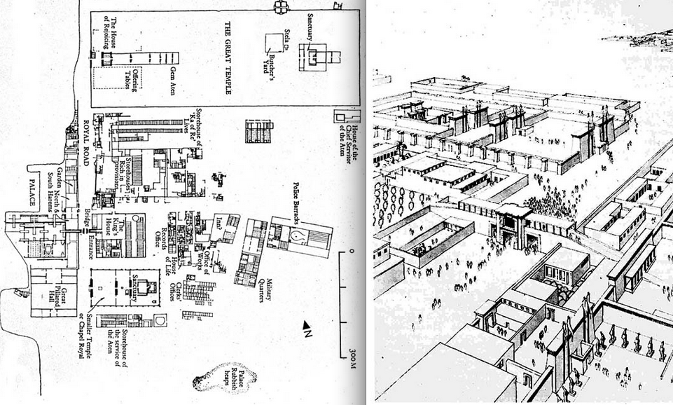 Central city egypt architectural plans of ancient egypt view central ccuart Choice Image