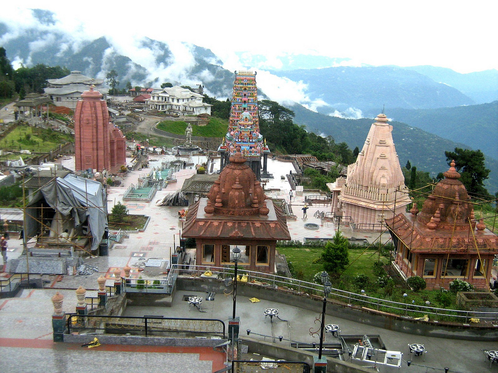 Char Dham Namchi, Char Dham, Namchi~~Sikkim | Replica of char Dham temples at … | Flickr