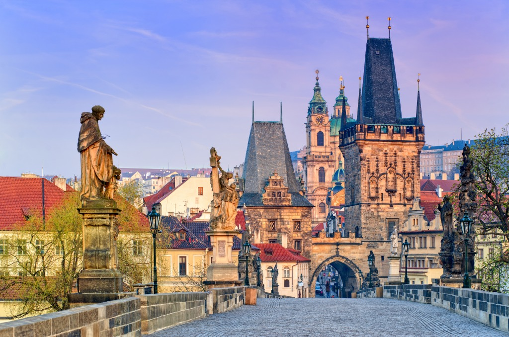 Charles Bridge Museum Prague, Charles Bridge in Prague jigsaw puzzle in Puzzle of the Day ...