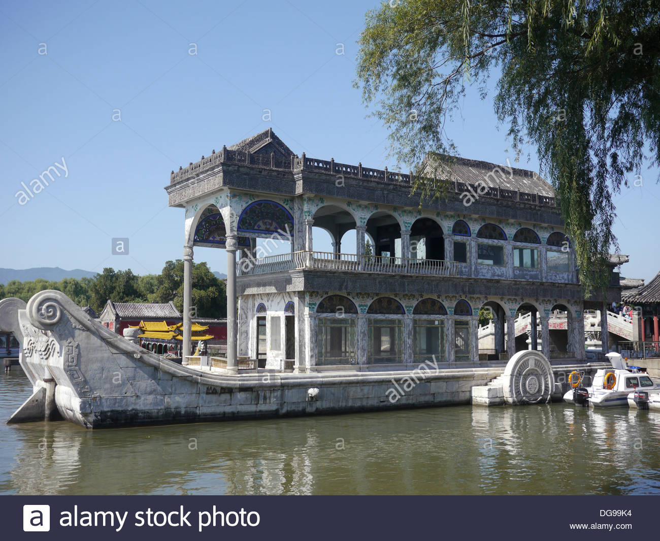 China Science & Technology Museum Běijīng, China, Beijing, Summer Palace built by Empress Cixi The Marble ...