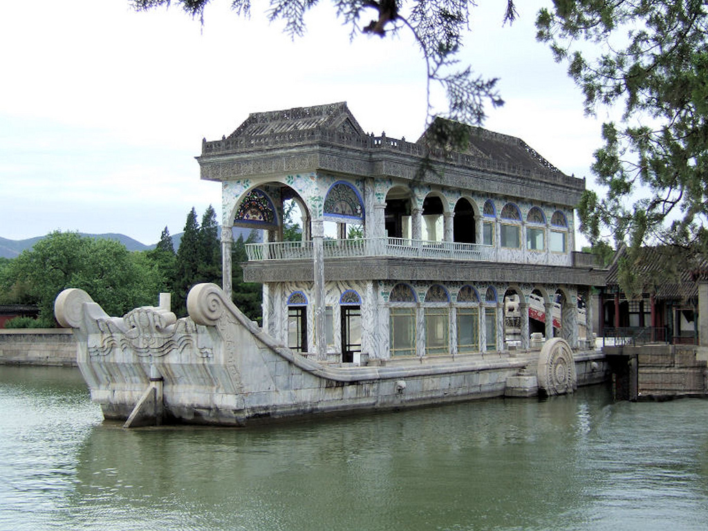 China Science & Technology Museum Běijīng, Summer Palace Lake -Marble Ship-Near Beijing, China | Flickr