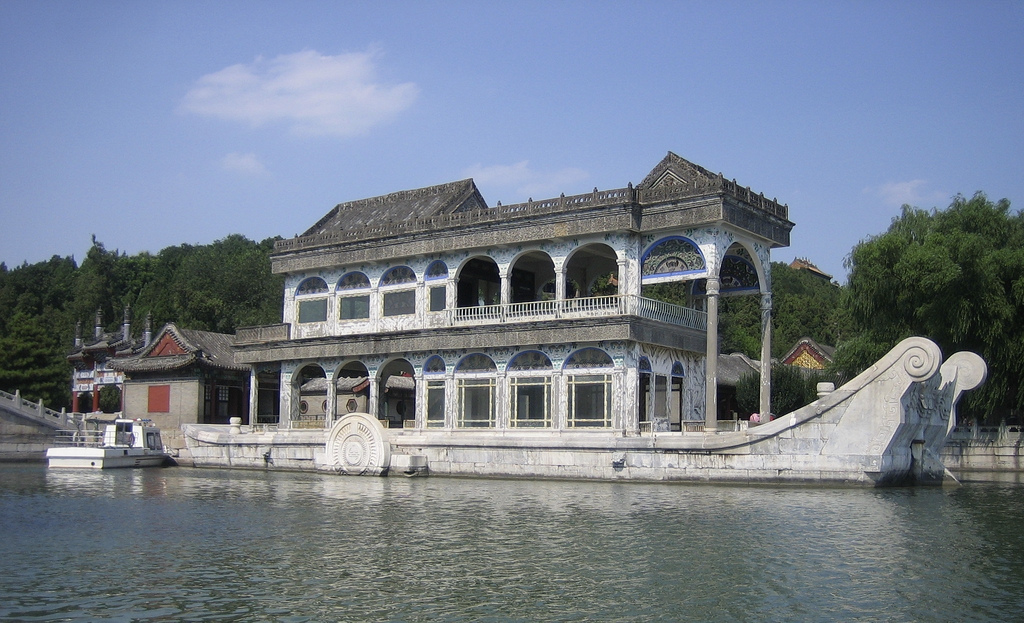 China Science & Technology Museum Běijīng, Marble boat from empress dowager Cixi, summer palace, Beij… | Flickr