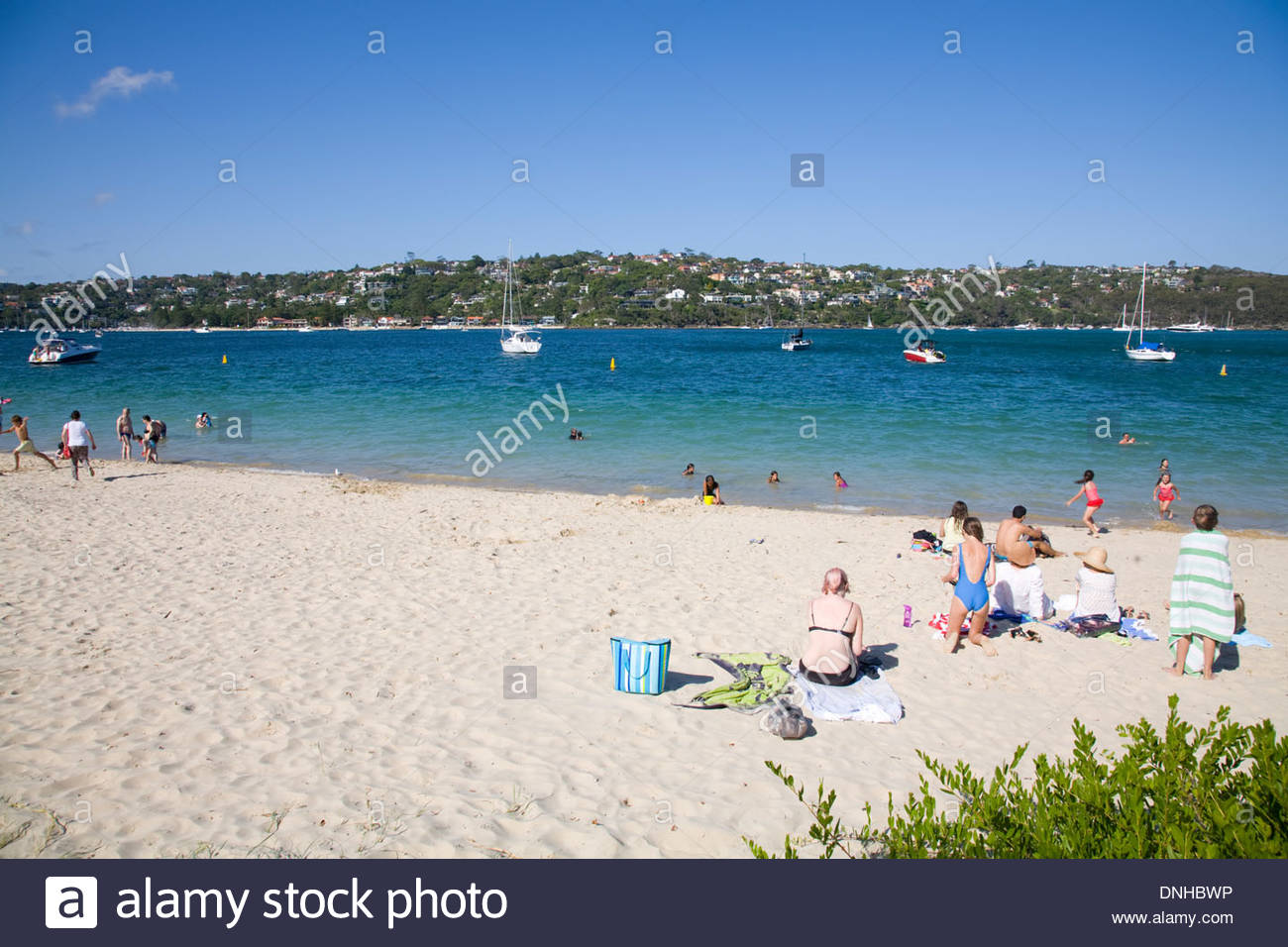 Chinamans Beach Sydney, Chinamans beach in Mosman and middle harbour, Sydney, New South ...