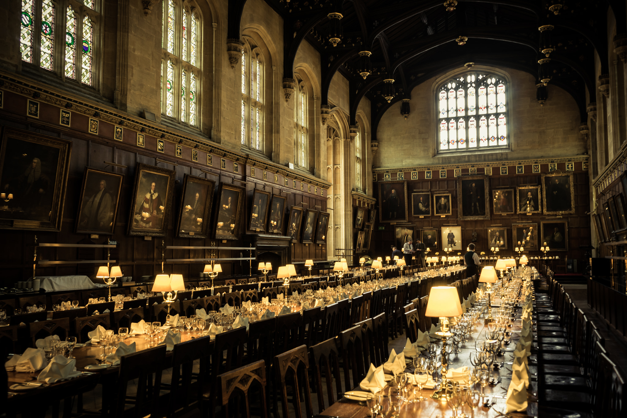 Christ Church Picture Gallery The Thames Valley, Christ Church's dining hall | Oxfords, Hall and Churches