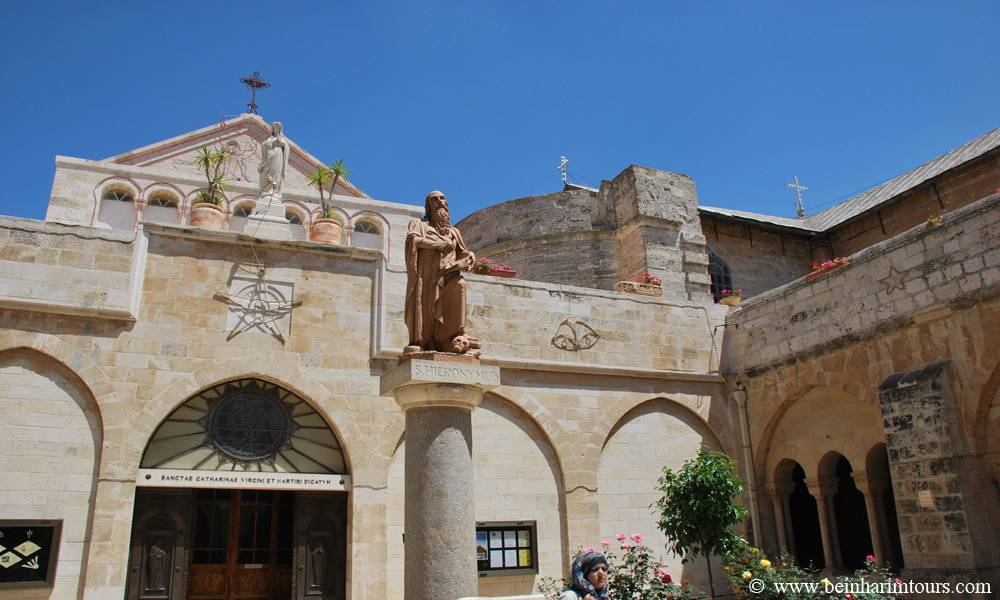 Church of St. Catherine Around Jerusalem and the Dead Sea, Jericho Tours | Bein Harim Tourism