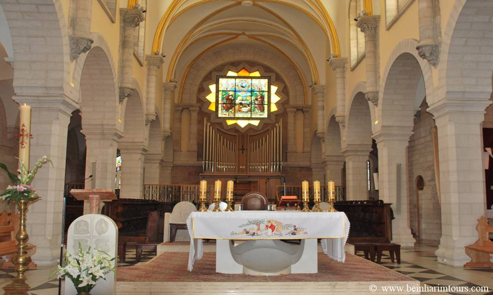 Church of St. Catherine Around Jerusalem and the Dead Sea, Bethlehem and Jericho Tour