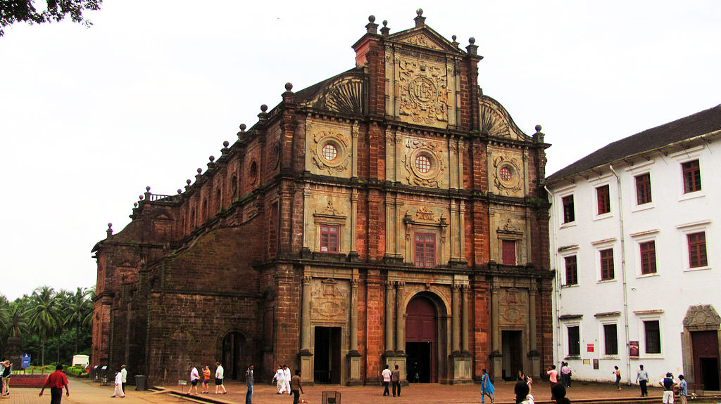Church of St Francis Xavier Old Goa, Famous Basilica of Bom Jesus in Old Goa