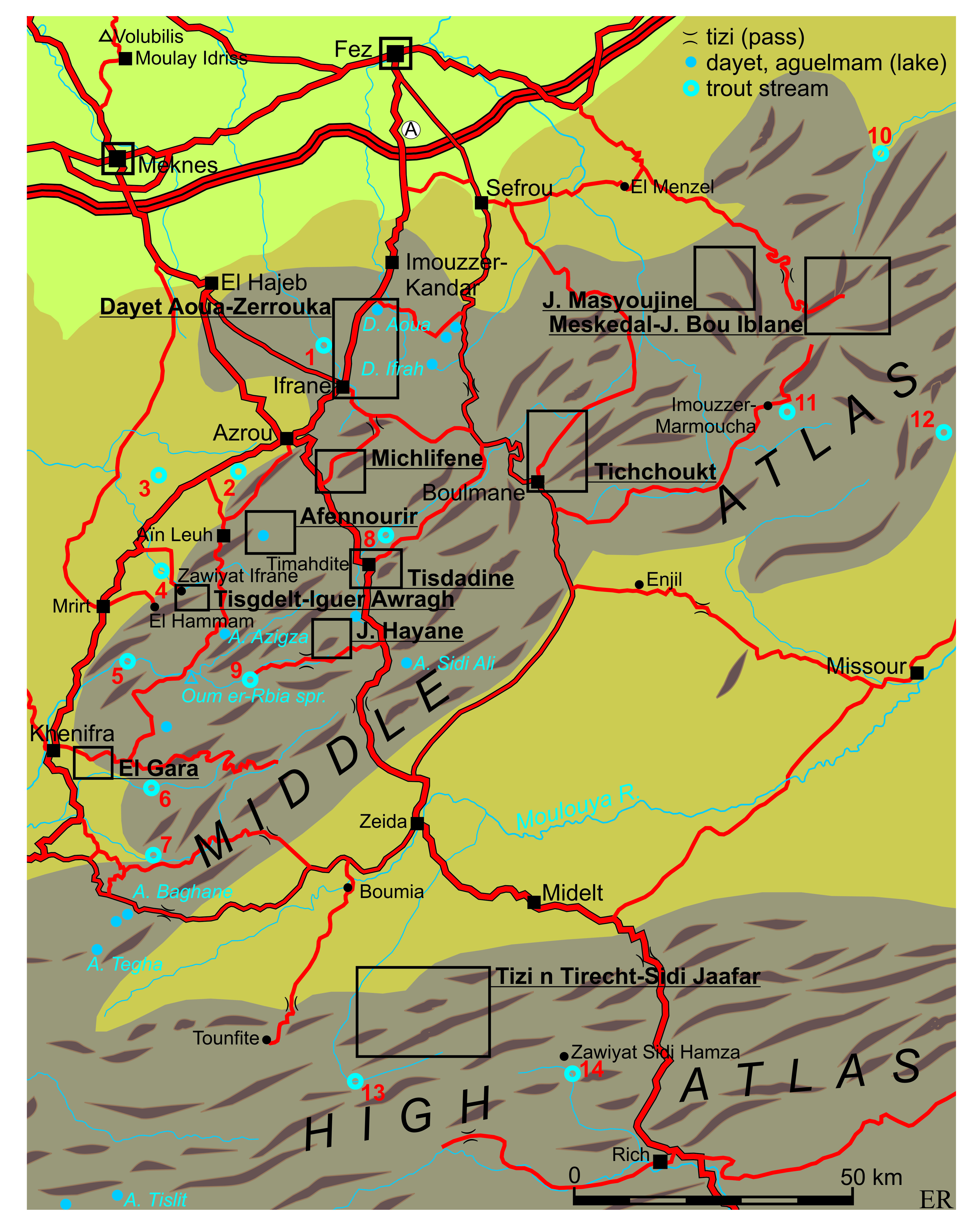 Cirque de Jaffar Fez and the Middle Atlas, Hiking in the Middle Atlas | Eric Ross, academic