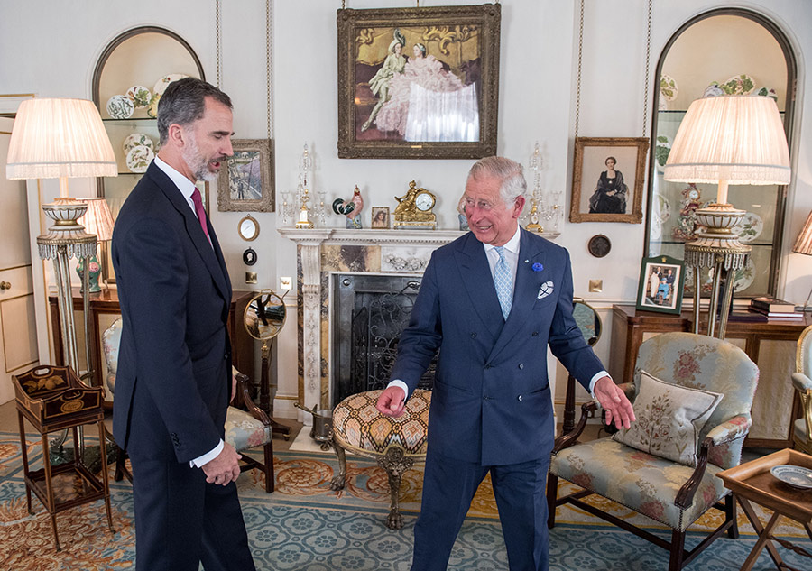 Clarence House London, Prince Charles takes us inside his Clarence House home: see rare ...