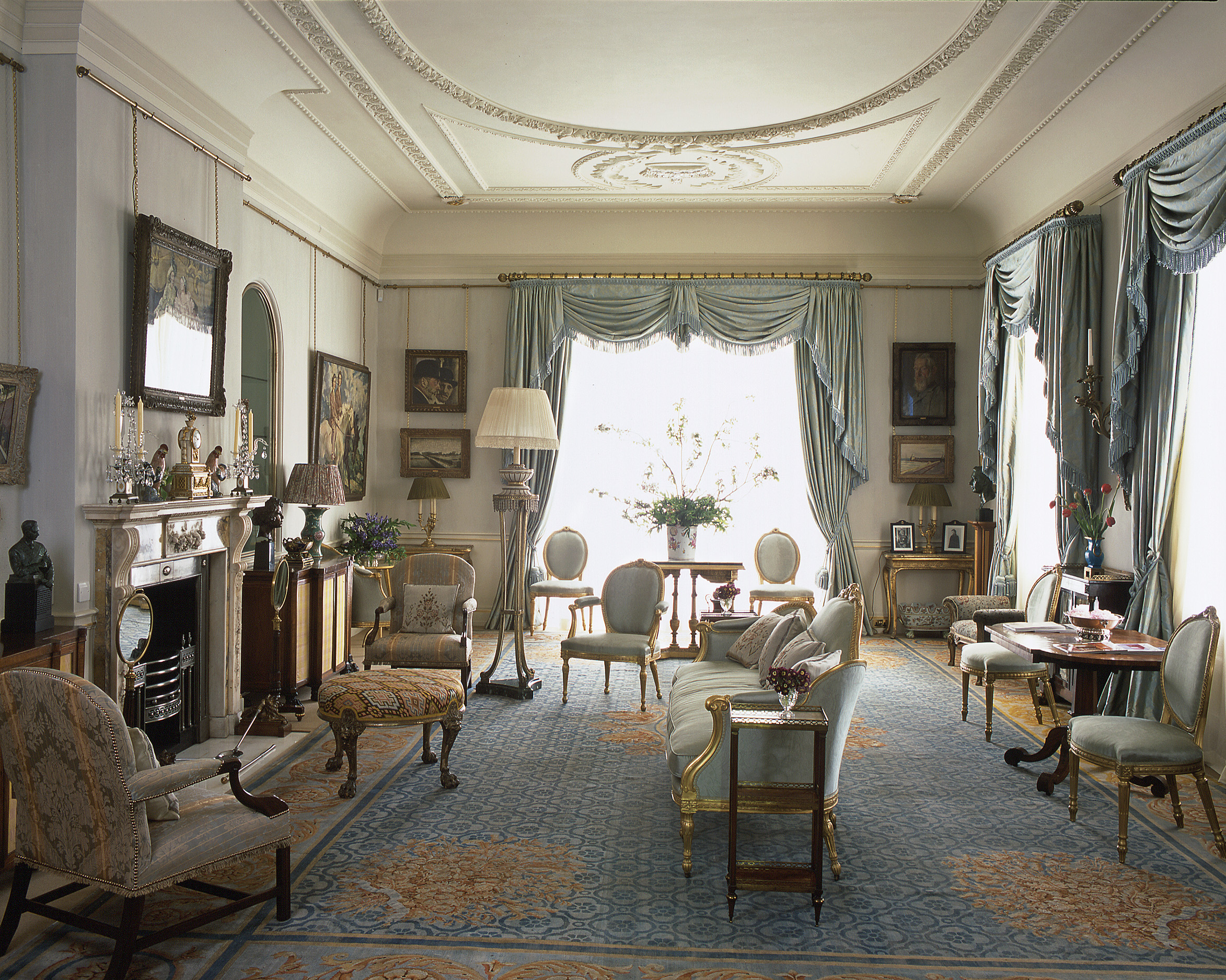 Clarence House London, Look inside Clarence House - the home of Prince Charles & Camilla ...