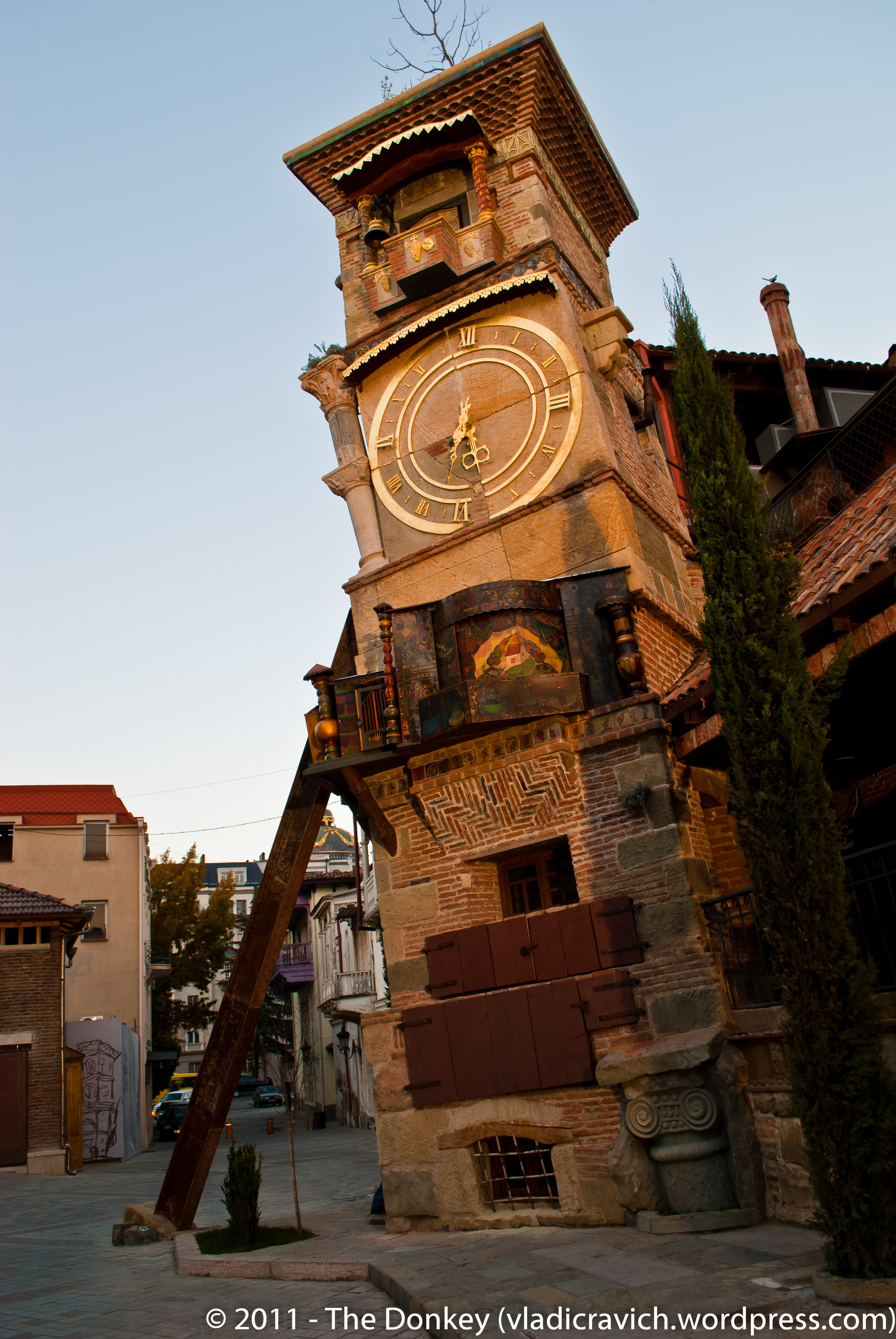 Clock Tower Tbilisi, Georgia's Young People – And An Old Puppeteer's Clock Tower | The ...