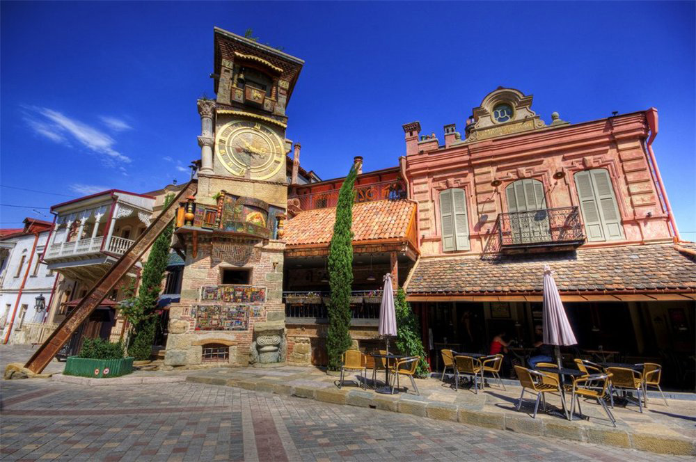 Clock Tower Tbilisi, Puppet theater & Clock Tower | Tbilisi Local Guide