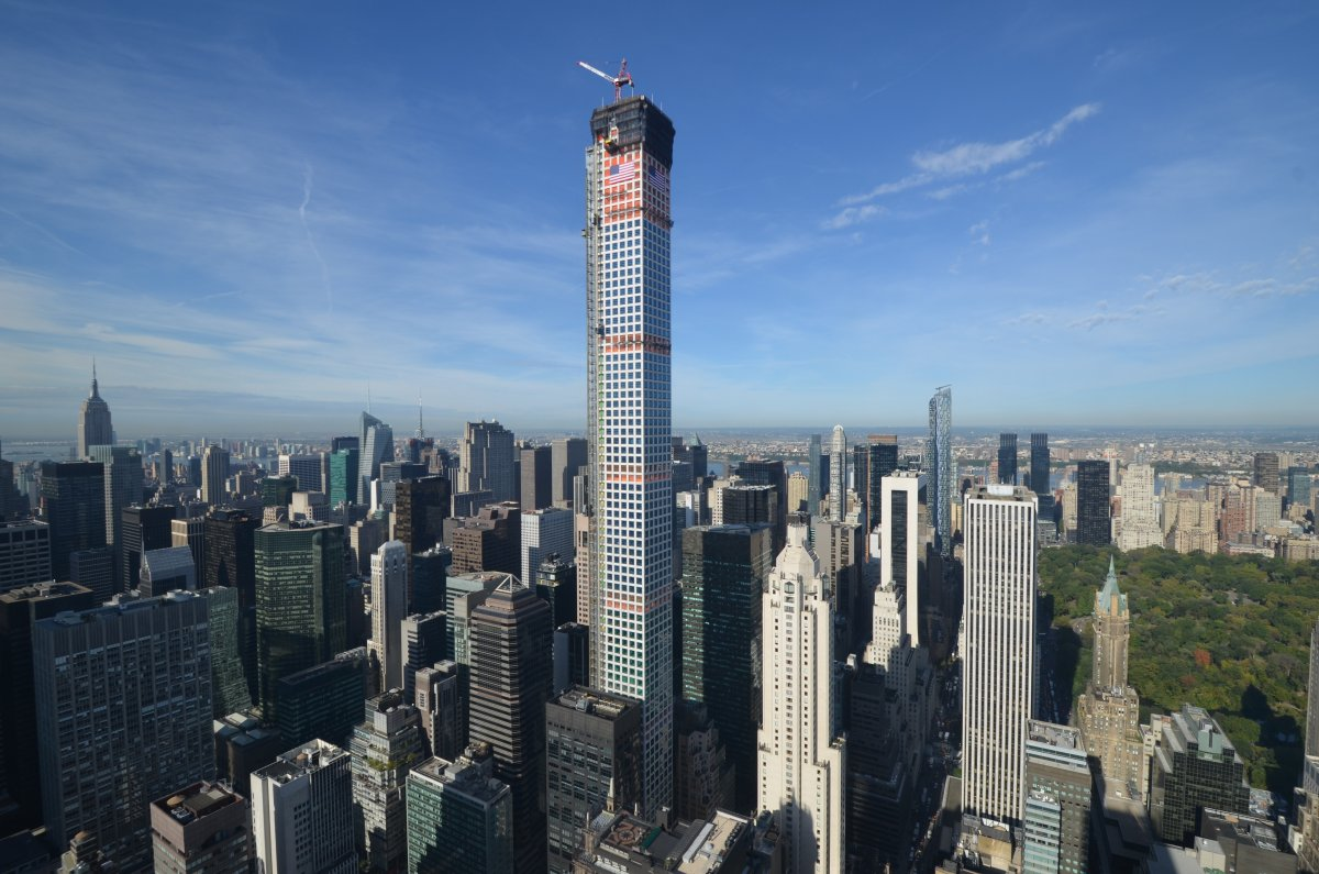 Times Square New York City, Views From Top Of 432 Park Avenue - Business Insider