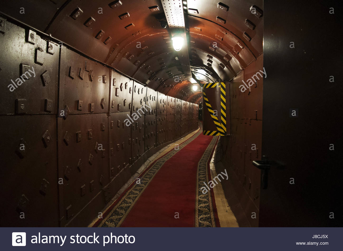 Cold War Tunnel Gjirokastra, Cold War Tunnel Sign in Gjirokaster Stock Photo, Royalty Free ...