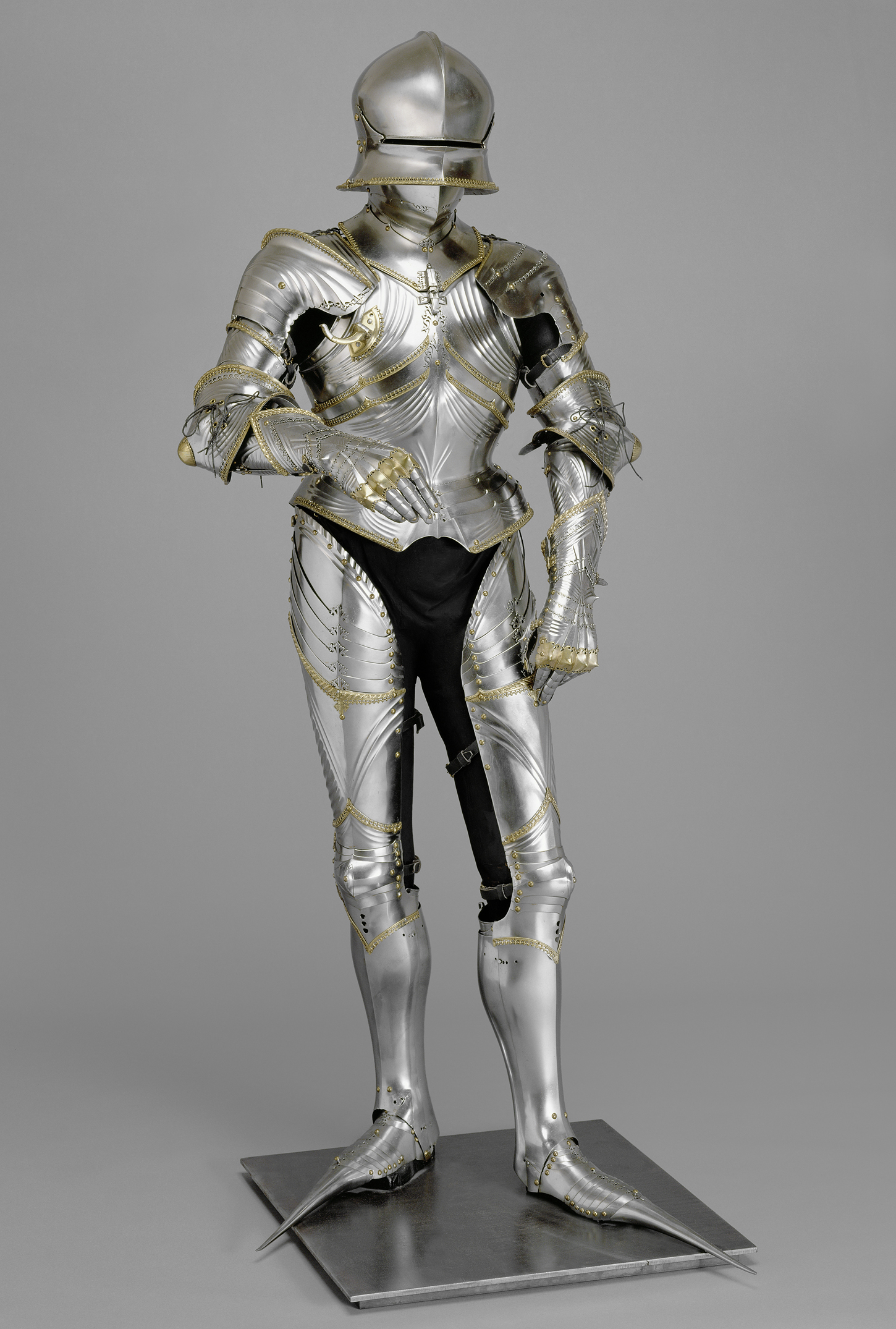 Collection of Arms and Armor Vienna, Lorenz Helmschmied, Cuirass of Maximilian I, Augsburg, c. 1485 ...