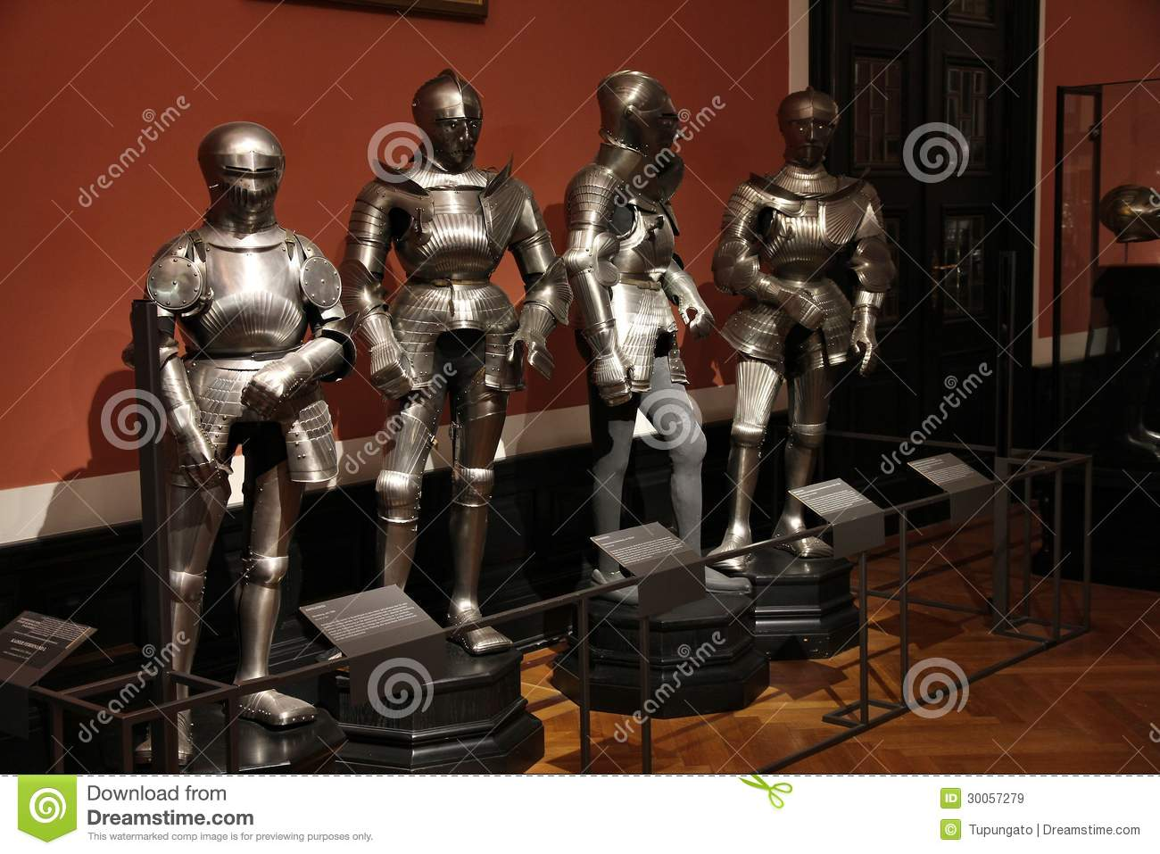 Collection of Arms and Armor Vienna, Vienna museum editorial stock image. Image of armor, interior ...