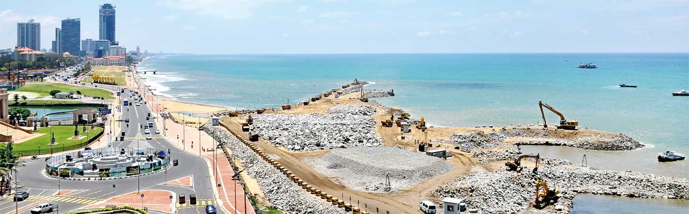 Colombo Port City Colombo, Colombo Port City Project - filling up operations commence - Sri ...
